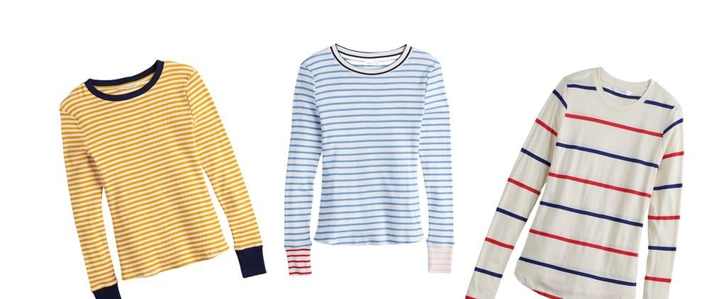 Mindy Kaling POPSUGAR at Kohl's Striped Shirt