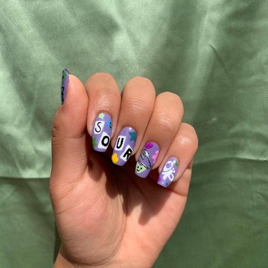 Olivia Rodrigo Sour-Inspired Nail-Art Designs