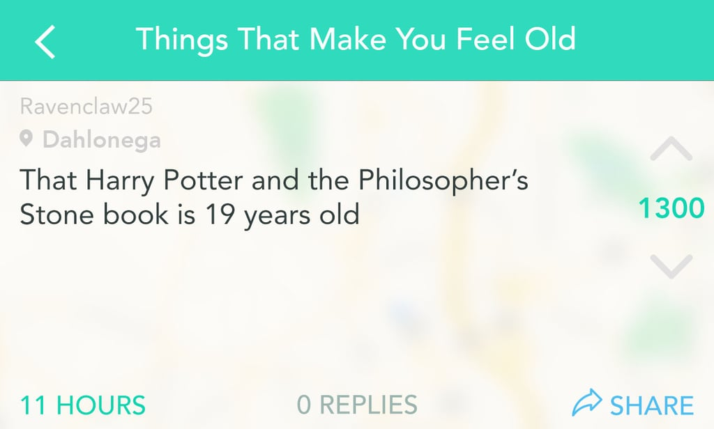 Wishing you could reread Harry Potter for the first time all over again.