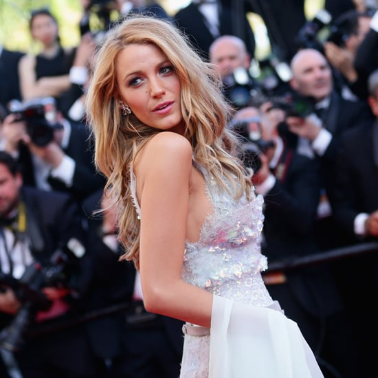 Blake Lively in a Chanel Dress at 2014 Cannes Film Festival