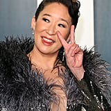 Sandra Oh at the Vanity Fair Oscars Party