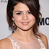 Selena Gomez posed for photos at the awards.