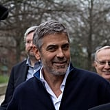 George Clooney after his arrest.