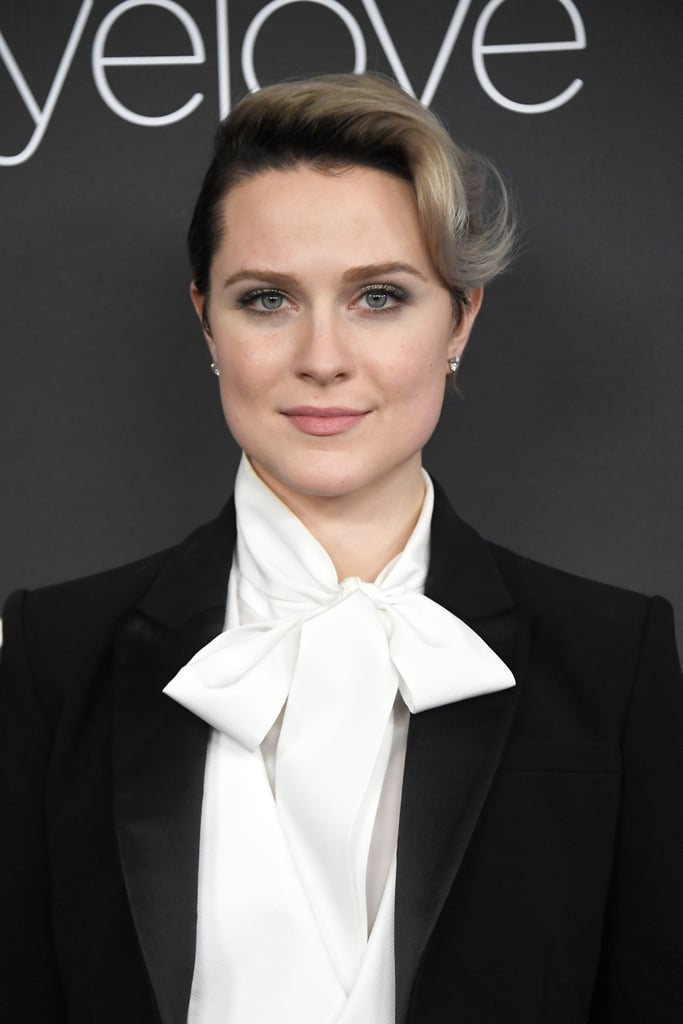 Evan Rachel Wood at the Golden Globes