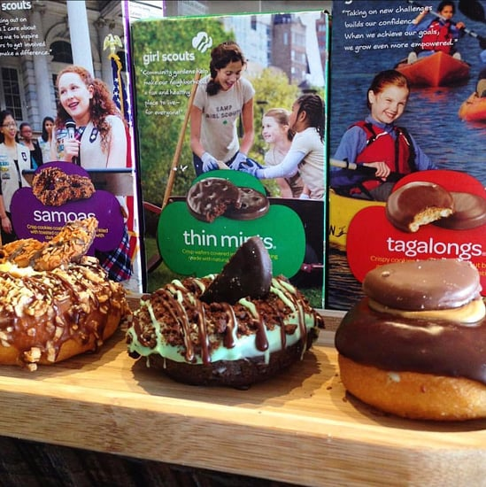 Girl Scout Cookie Doughnuts