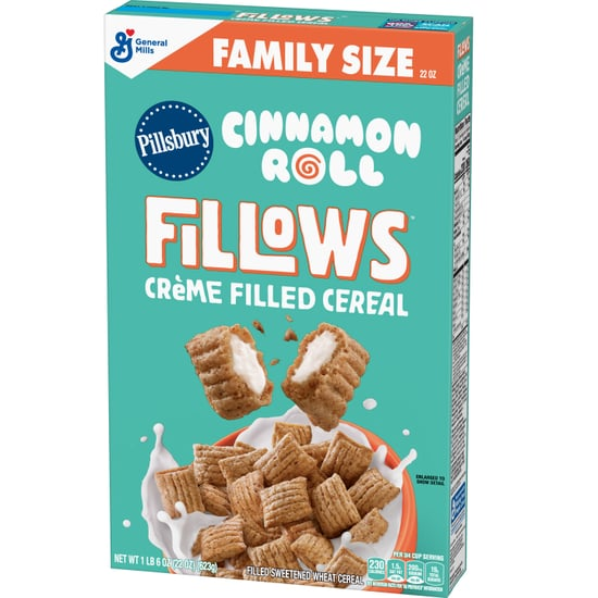 Cinnamon Roll and Cookies 'n' Creme Fillows Cereal