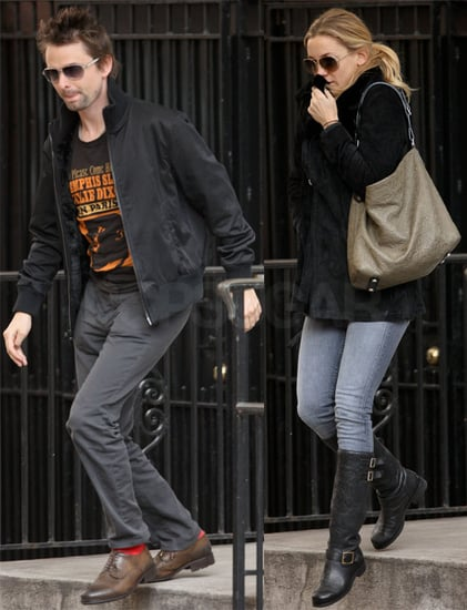 Pictures of Kate Hudson and Matt Bellamy Out In New York