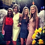 At Good Morning America, the Victoria's Secret ladies proved they always have a good time!  Source: Instagram user behatiiprinsloo
