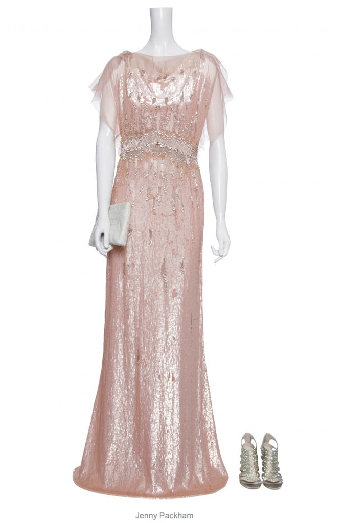 Kate Middleton\'s Evening Gown   Kate Middleton in Sequin Pink Jenny ...