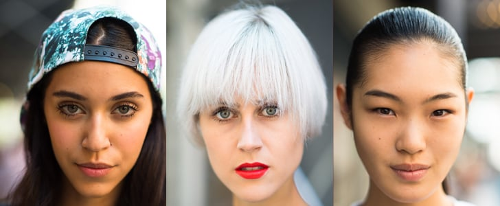 30+ Stunning Beauty Street Style Stars of New York Fashion Week
