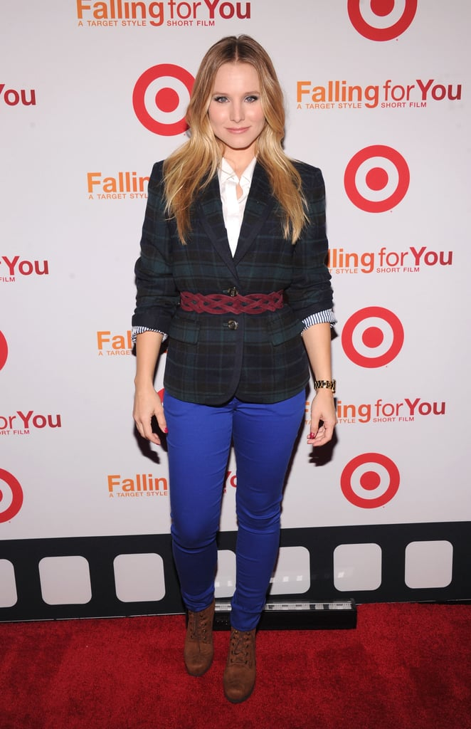Kristen Bell stepped out for a Target party in NYC.