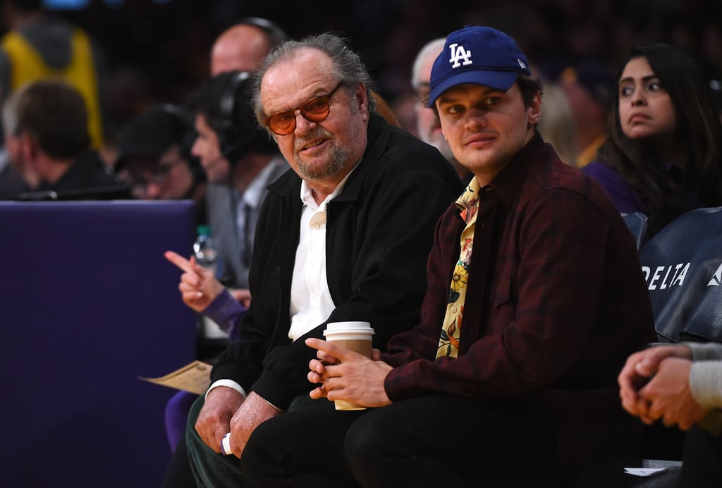Pictures of Ray Nicholson With Dad Jack Nicholson