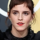The First Thing You'll Notice About Emma Watson's Golden Globes Dress Is Her Sleeves