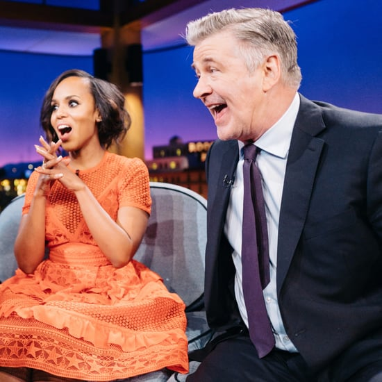 Kerry Washington and Alec Baldwin Talking About Donald Trump