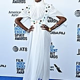 Kiki Layne at the 2019 Independent Spirit Awards