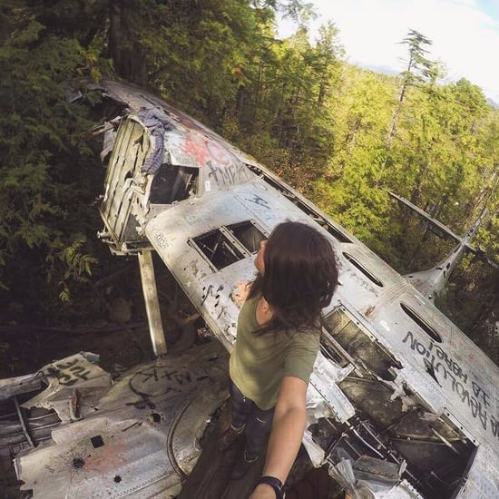 Canso Plane Crash Site in Canada