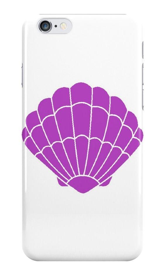Mermaid shell case ($26)