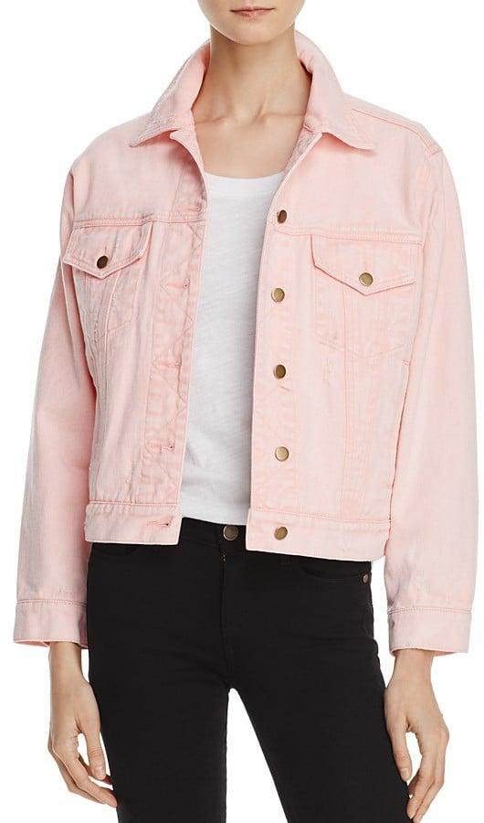 Honey Punch Denim Jacket | The Best Millennial Pink Jackets ...