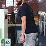 Jensen Ackles With a Beard in Vancouver