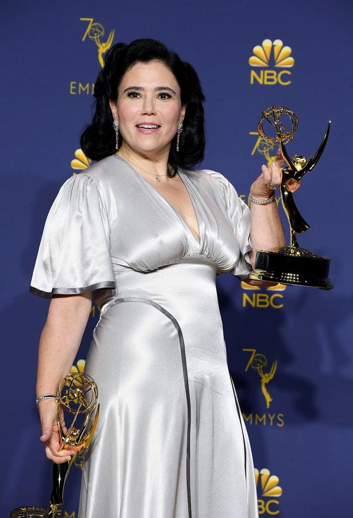 Alex Borstein S Silver Dress At The 2018 Emmys Popsugar