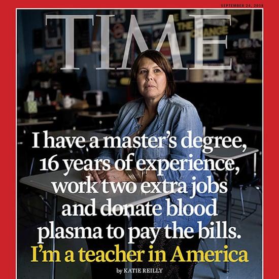Time Magazine Teacher Covers September 2018
