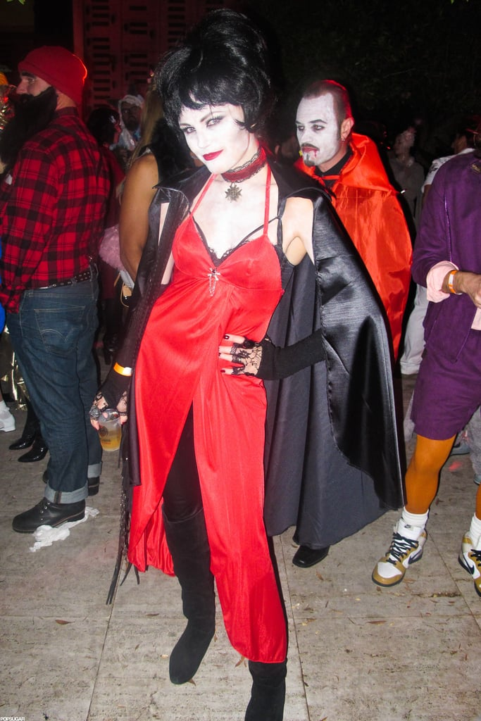 Malin Akerman got spooky for an LA bash in 2011.