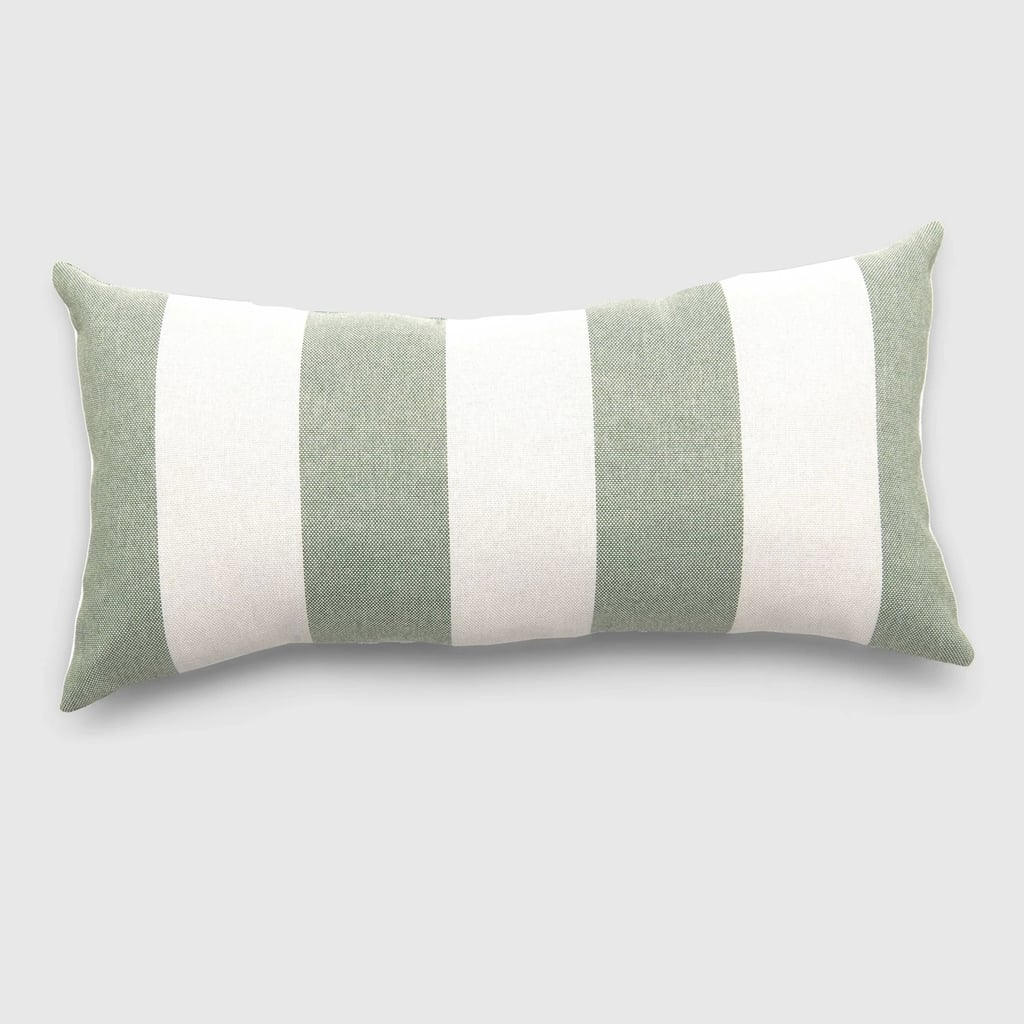 Lumbar Cabana Stripe Outdoor Pillow