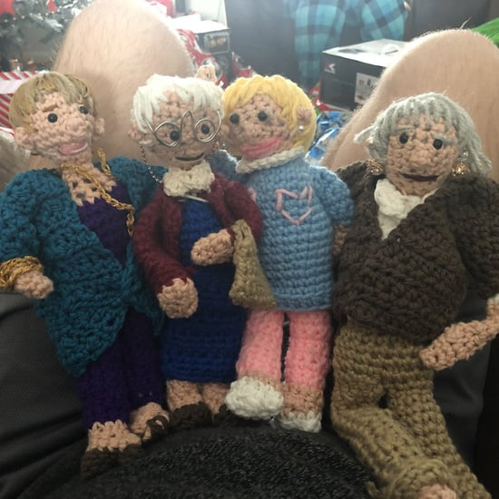 Crocheted Golden Girls Dolls