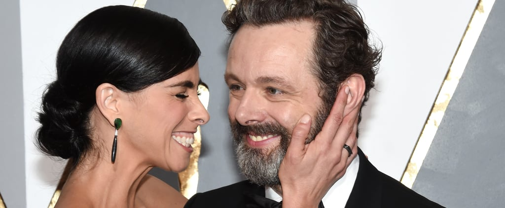 We Can't Get Enough of Sarah Silverman and Michael Sheen's Goofy Love
