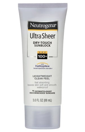Neutrogena Figuratively Turns the SPF Up to 11