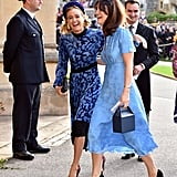 Karoline Copping And Jimmy Carr Princess Eugenie S Wedding Brought Out So Many Stars We Almost Mistook It For An Award Show Popsugar Celebrity Photo 14 Karoline copping has gathered net. karoline copping and jimmy carr