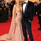 Blake Lively and Ryan Reynolds at the 2014 Met Gala