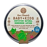 Raw Elements Baby + Kids Sunscreen Lotion Tin, SPF 30