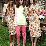 This trio of Resort-clad models would be the best-dressed at any Summer party.