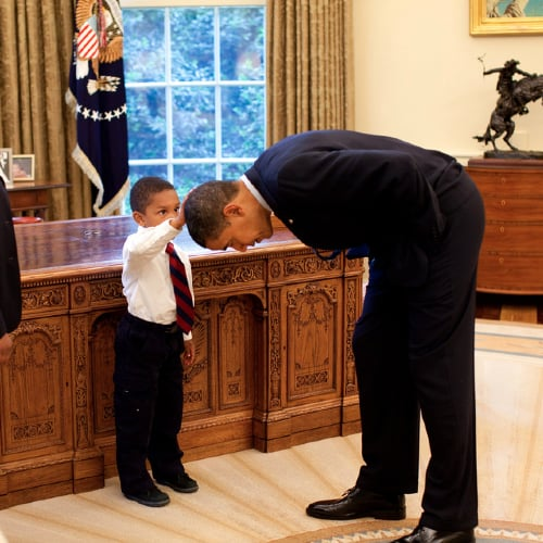 President Obama and Kids