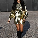 Yara Shahidi at the Gucci Fall 2020 Show