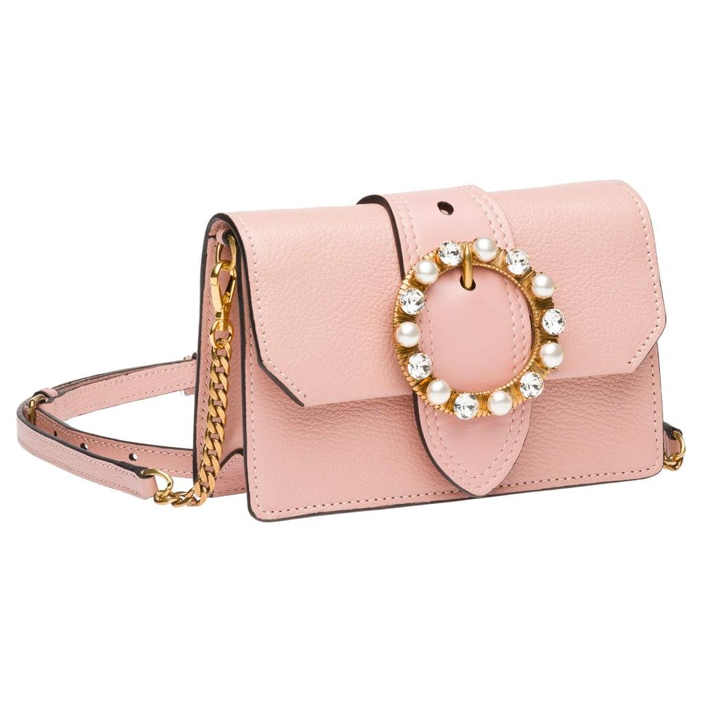 Miu Miu Jeweled Belt Bag  ceca0217877e6