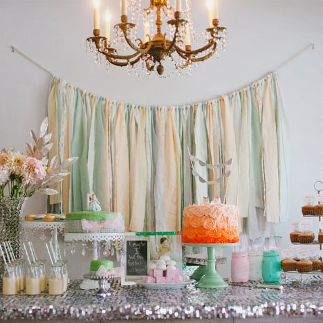 Breakfast At Tiffanys First Birthday Party