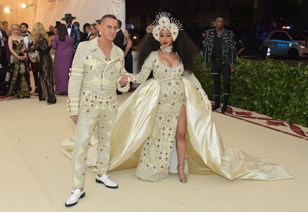 Cardi B at the 2018 Met Gala
