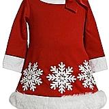 Bonnie Baby Christmas Snowflake Dress