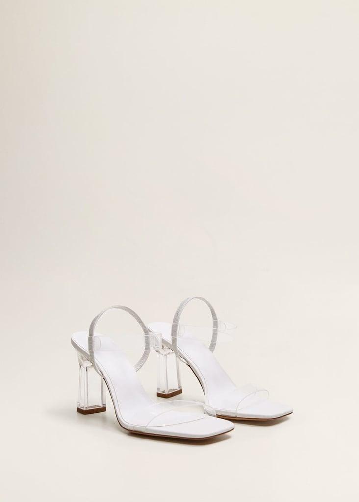 Mango Vinyl straps sandals