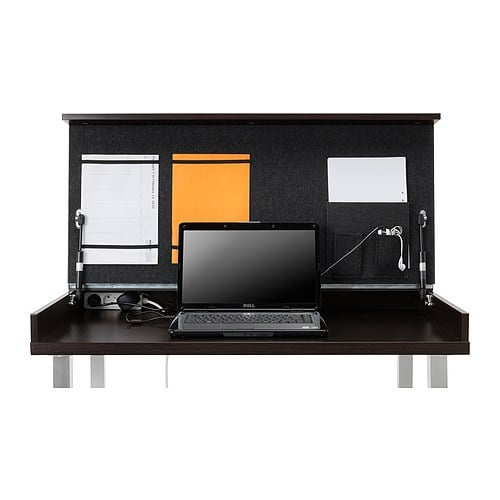 Ikea desk for small spaces popsugar tech - Small spaces ikea photos ...