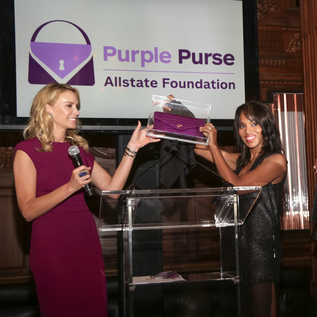 On Designing the Clutch For Allstate Foundation Purple Purse