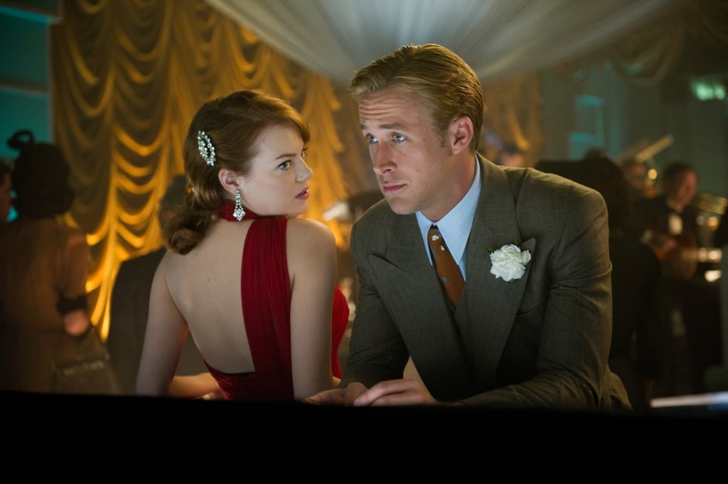 Emma Stone and Ryan Gosling in Gangster Squad.