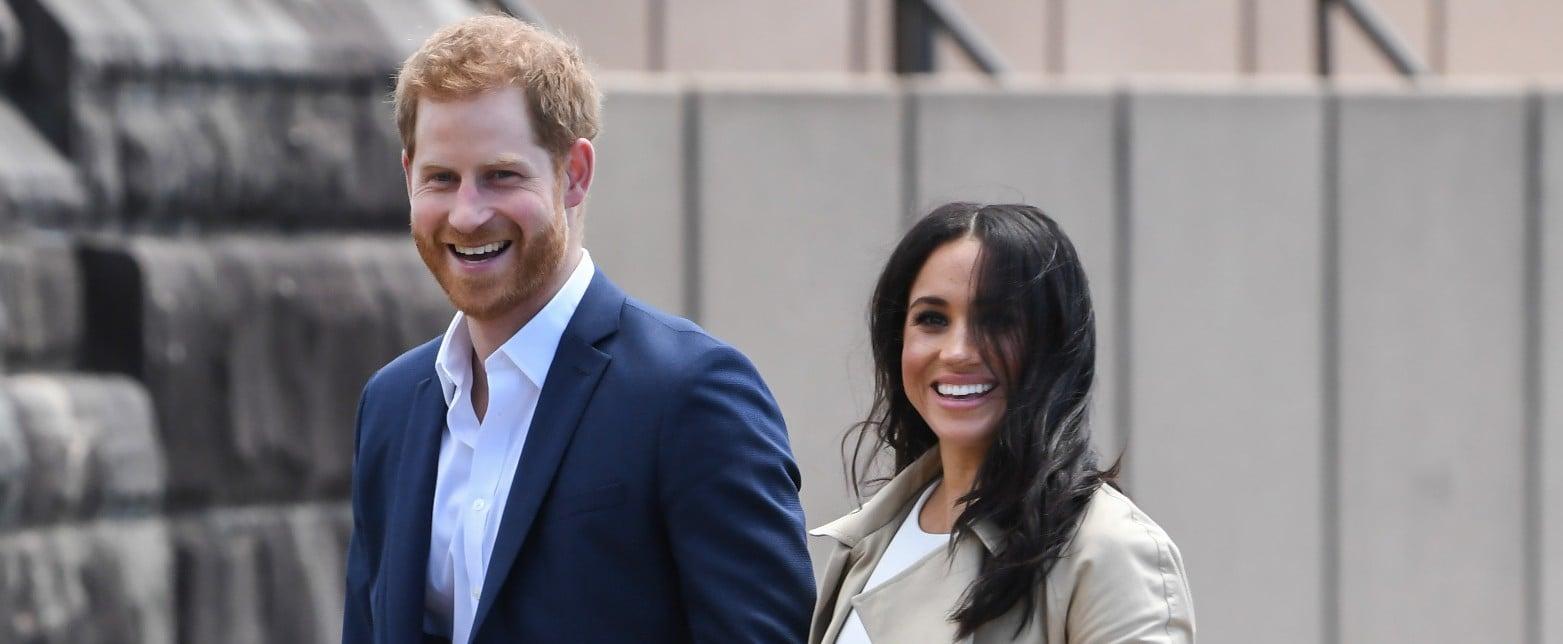 Prince Harry and Meghan Markle Funny Moments Australia 2018