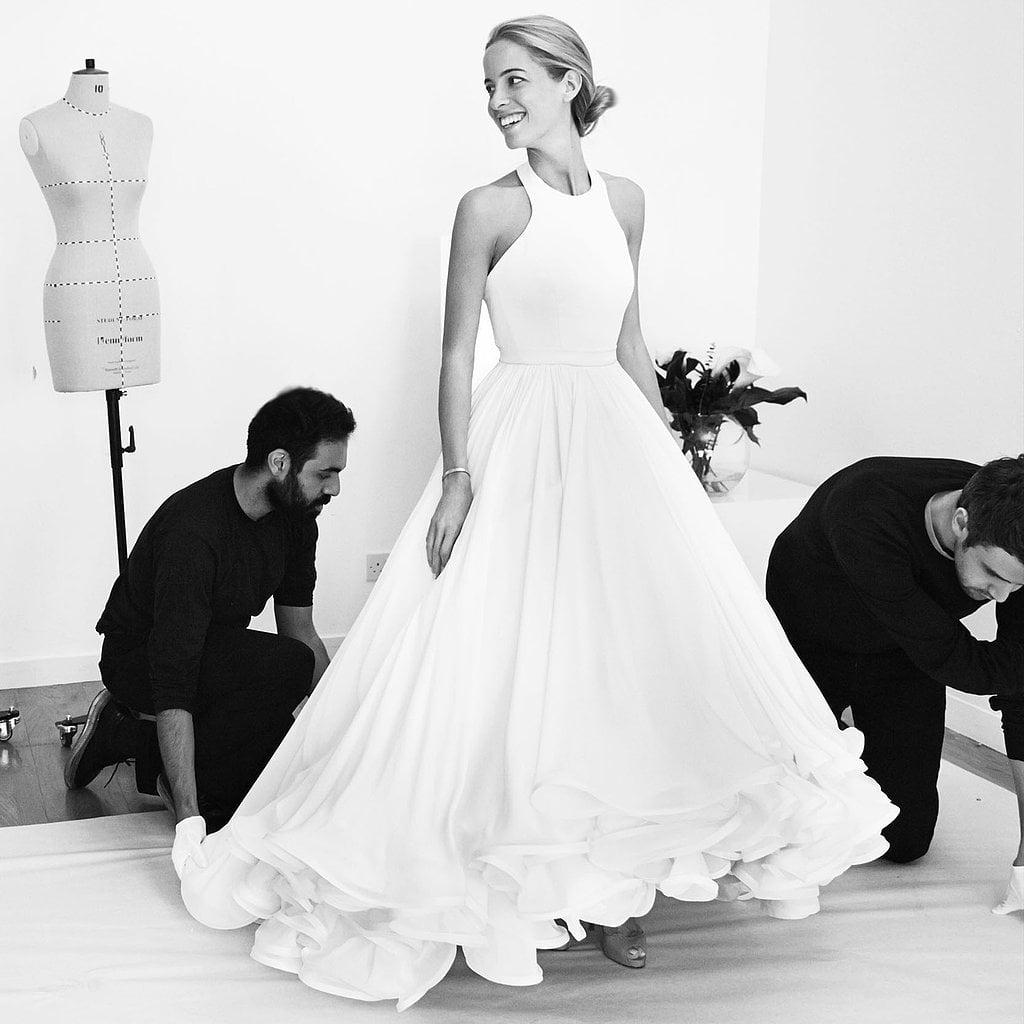 A Buzzy Designer Tries Bridal