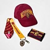 Gryffindor Hat, Wallet & Lanyard Gift Set
