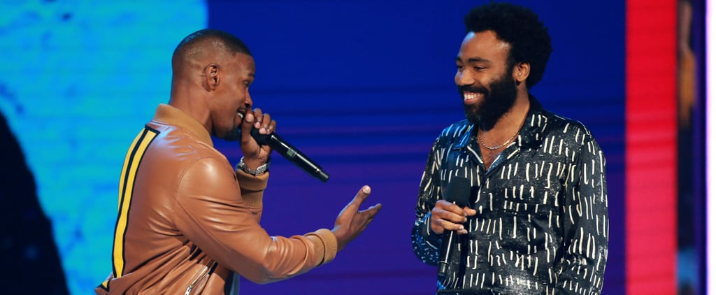 Donald Glover and Jamie Foxx 2018 BET Performance Video