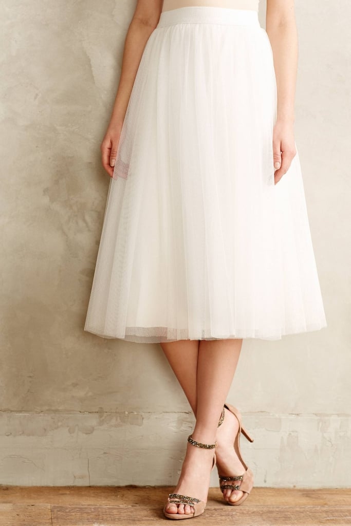 Bailey 44 Tulle Midi Skirt ($168)