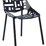 Flores Side Chair, Black ($723)
